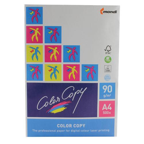 Color Copy White 90gsm A4 Recycled Printer Paper Ream of 500