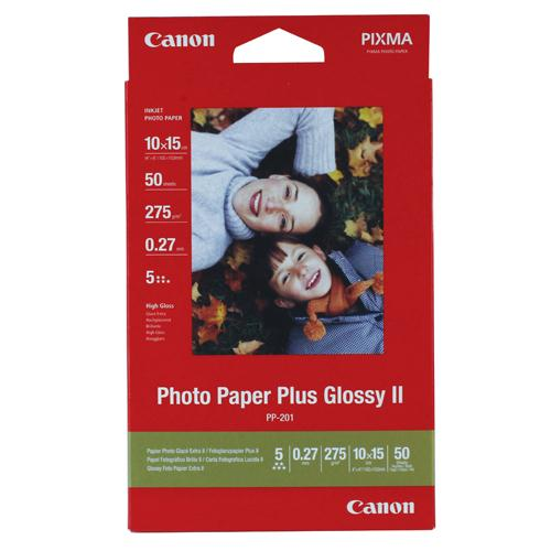 Canon Photo Paper Plus Glossy PP-201 10x15cm Pk 50 Sheets