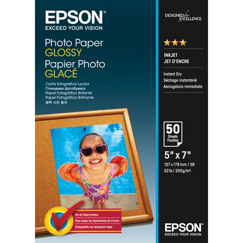Epson Photo Paper Glossy 13x18cm 200gsm C13S042545