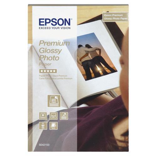 Epson Premium Glossy Photo Paper 10x15cm Pk 40 C13S042153