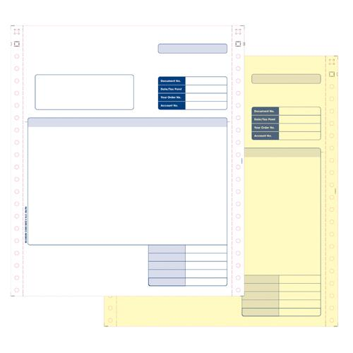 Sage Compatible Invoice 2-Part Pk 1000 SE02