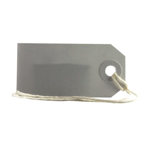 Fisher Clark Tags Strung 1CKL 70x35mm White Single Pk 75 8010