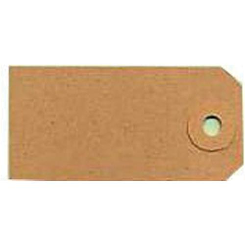 Fisher Clark Tags Unstrung 1A 70x35mm Buff Single Pk 1000 TG8021