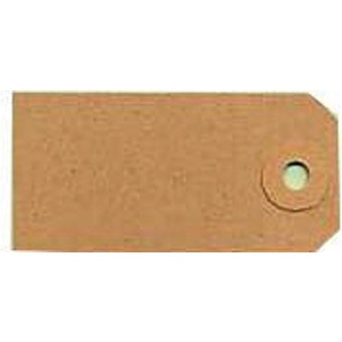 Fisher Clark Tags Unstrung 4A 108x54mm Buff Single Pk 1000 TG8024