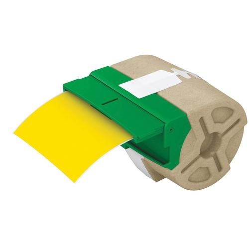 Leitz Icon Yellow Continuous Plastic Label Roll 88mmx10m 70160015