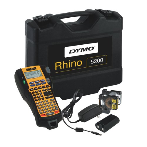 DYMO Rhino 5200 Industrial Labelling Machine Kit Ref S0841390