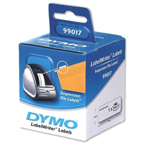 Dymo Suspension File Label 50x12mm Pack 220 Ref S0722460