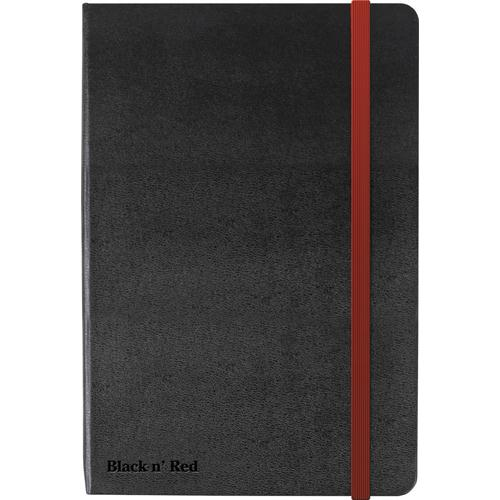 Black by Black n' Red Hard Cover A5 Notebook Black (Pack of 1) 400033673