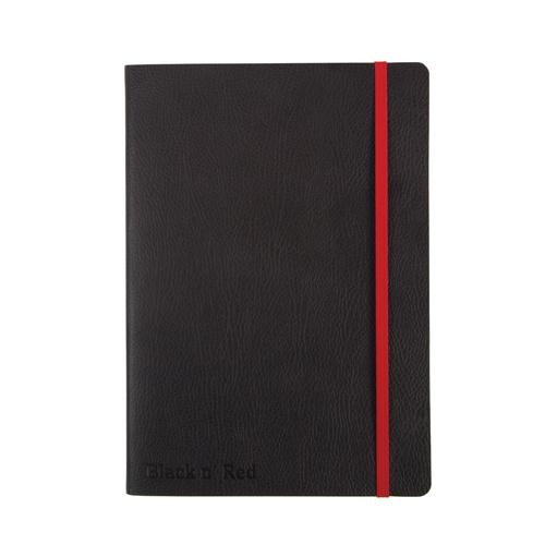 Black by Black n' Red Soft Cover A5 Notebook (Pack of 1) 400051204