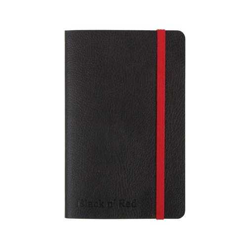 Black by Black n' Red Soft Cover A6 Notebook (Pack of 1) 400051205