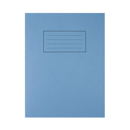 Exercise Book 9x7/229x178mm Feint And Margin Blue EX04