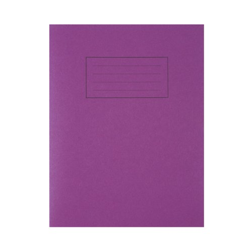 Exercise Book 9x7/229x178mm Feint And Margin Purple EX100