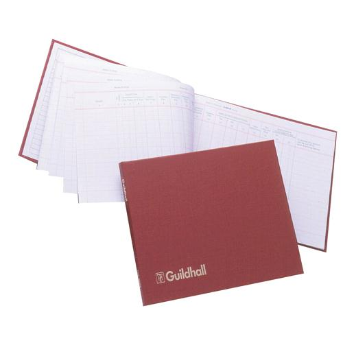 Guildhall Wages Book 149x203mm 18 Employee 202H 1610
