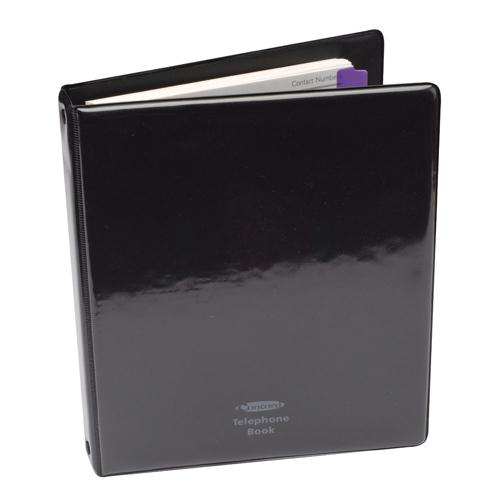 Concord Telephone/Address Binder A5 Black 83010/CD6