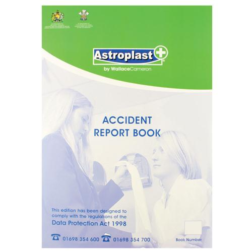 Astroplast Accident Report Book A4 5401016