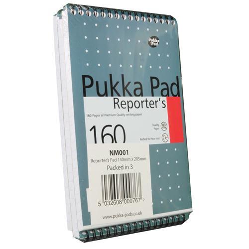 Pukka Reporters Shorthand Notebook 160pp