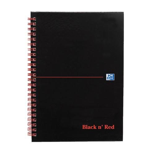 Black n' Red Notebook A5 Indexed 100080194