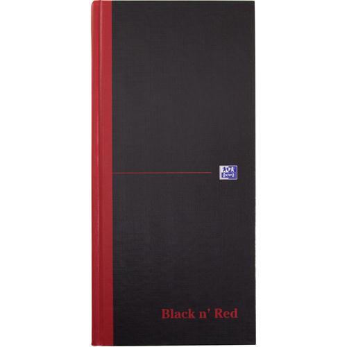 Black n' Red Book 297x140mm Feint 100080528