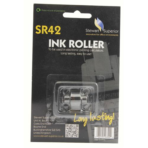 Calculator Ink Roller IR40T Red/Black SPR42