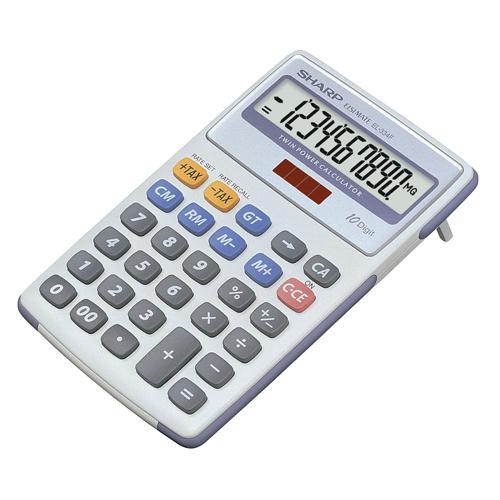 Sharp Semi-Desktop Calculator 10-digit EL-334FB