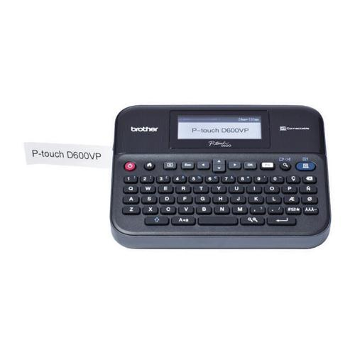 Brother P-Touch PT-D600VP Desktop Label Printer PTD600VPZU1