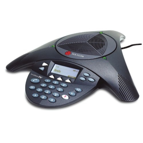 Polycom Conference Unit Soundstation Phone Keypad Echo Cancellation PB-PO2 Each 2200-16000-102