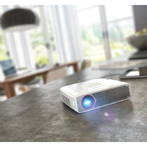Philips PicoPix Pocket Projector Silver PPX4835