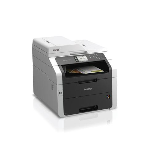 Brother MFC-9340CDW Colour Laser All-in-One Printer with Fax White MFC9340CDW