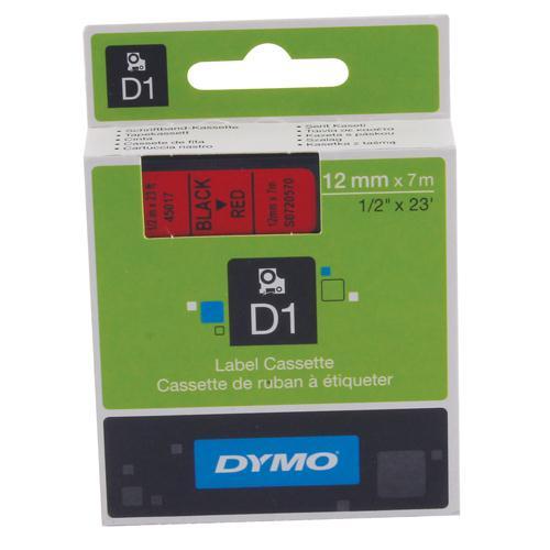 Dymo 4500 Tape Black/Red 45017 S0720570