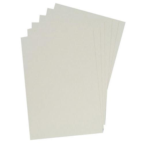GBC White LeatherGrain 250gsm A4 Binding Covers Pack of 100