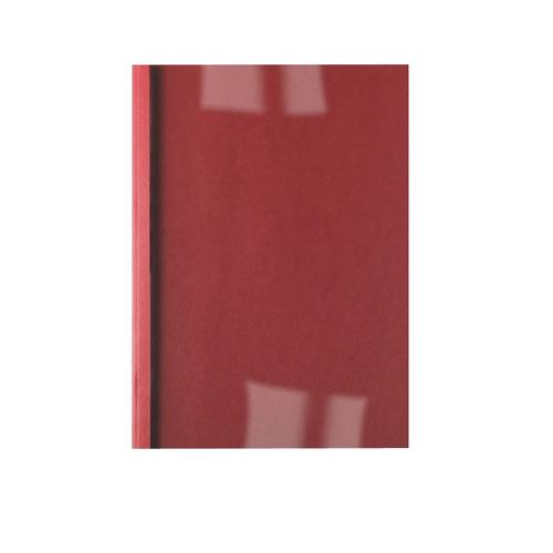 GBC LeatherGrain Thermal Binding Covers 1.5mm Red Pk100 451201U