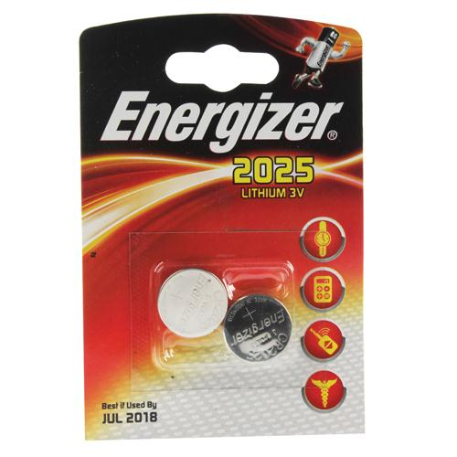 Energizer Special Lithium Battery 2025/CR2025 FSB2 Pk 2 626981