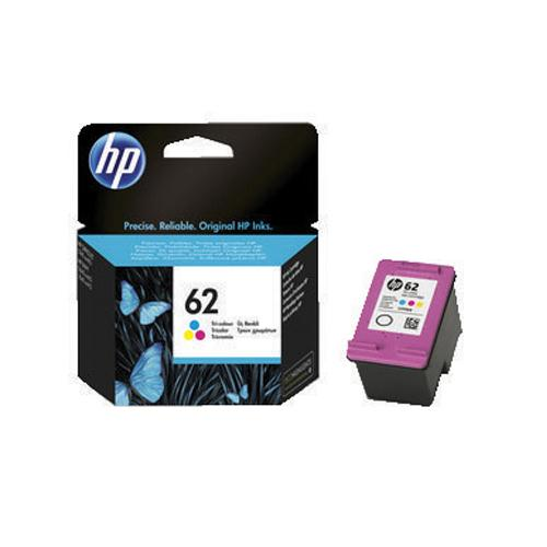 HP Ink Cartridge 62 Cyan/Magenta/Yellow Ref C2P06AE 165x3 Pages
