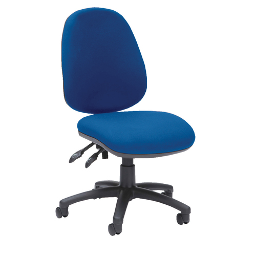 Prism High Back Operator Chair Asynchro Blue Ref PSM2/BLUE Each