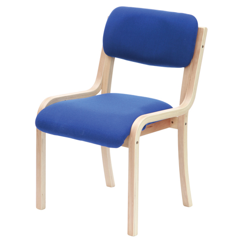 Turner Chair Beechwood Blue TU1/BLUE Each