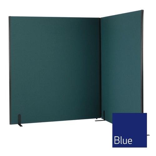 Lyle One Straight Top Free Standing Screen 800x1200mm 1/12.08 Fabric Camira Cara Cluanie