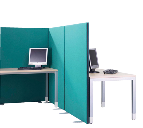 Lyle One Straight Top Free Standing Screen 1600x1200mm 1/12.16 Fabric Camira Cara Carron