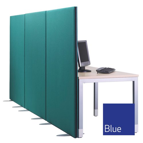 Lyle One Straight Top Free Standing Screen 1600x1600mm 1/16.16 Fabric Camira Cara Cluanie