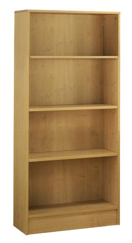 Workmode Plus Wooden Bookcase 3 Shelves 800 x 310 x 1600mm Beech Ref ZIMBC1600BCH