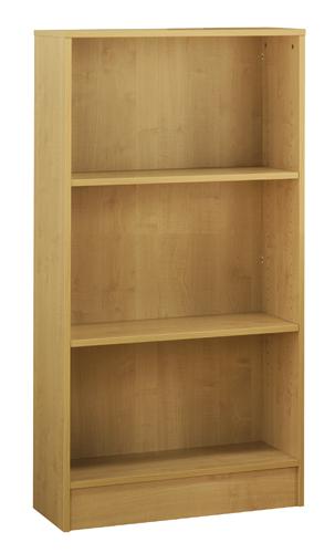 Workmode Plus Wooden Bookcase 2 Shelves 800 x 310 x 1400mm Beech Ref ZIMBC1400BCH