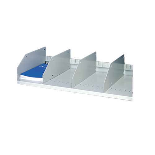 Tambour Fitments Slotted Shelf Dividers Packed 5