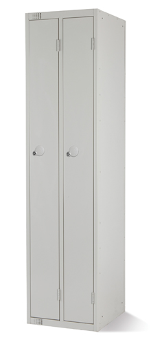 Twin Locker 1 Dr 1800x450x450mm Grey Ref 1845TWGREY Each