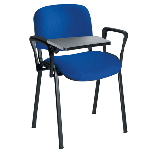 Stakka Chair Black Frame Blue Fabric Ref STA0500/B/BLUE Each