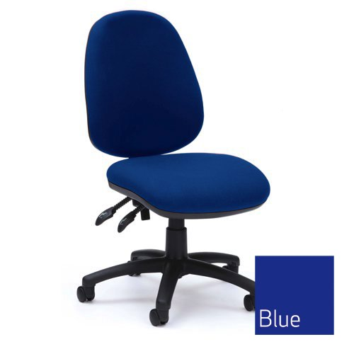Prism High Back Optr Chair PCB Blue Ref PSM1/BLUE Each