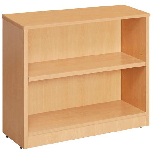 Fraction 800 High Bookcase With 1 Shelf Oak Ref ZFBC800/OAK Each
