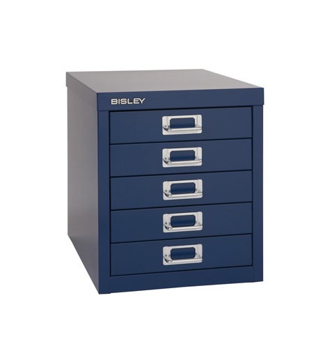 Bisley 12 Series Multidrawer Cabinet 5 Drawer Black H125BLK
