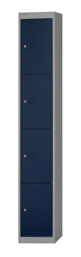 Over 1200mm High Bisley 4 Door 30.5 Locker
