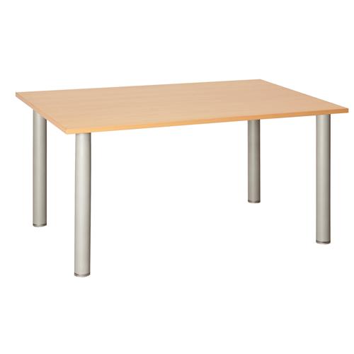 Fraction Rectangular Meeting Table 1600 Oak Ref ZFT1680OAK Each