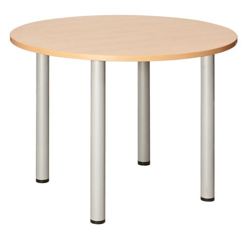 Boardroom / Meeting Fraction Plus Circular Meeting Table