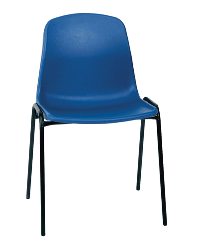 Polypropylene Chair Adult Black Ref AC1